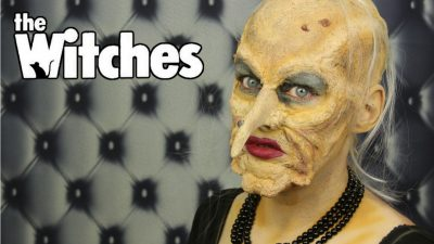 Grand High Witch Special Effects Makeup Tutorial