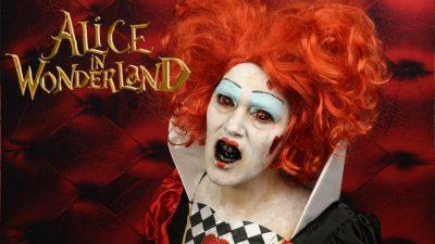 Queen of Hearts Special Effects Makeup Tutorial | Video Tutorial