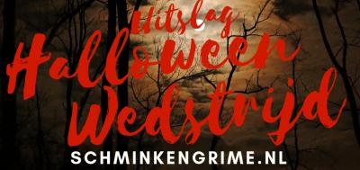 Halloween Wedstrijd, de uitslag