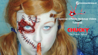 Special Effects Makeup Video Tutorial Chucky, the female edition