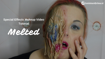 Special Effects Makeup Video Tutorial Melted