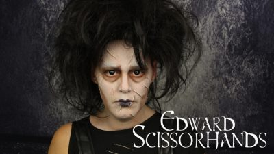Edward Scissorhands Special Effects Makeup Tutorial | Video Tutorial
