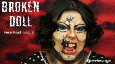 Eva's Broken Doll Makeup Tutorial | Video Tutorial