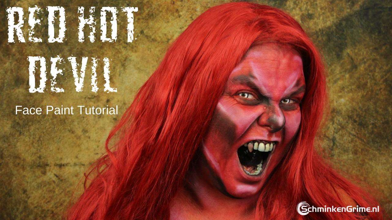 Annuleren Wijzigingen opslaan Eva's Red Hot Devil Makeup Tutorial | Annuleren Wijzigingen opslaan Eva's Red Hot Devil Makeup Tutorial | Video Tutorial