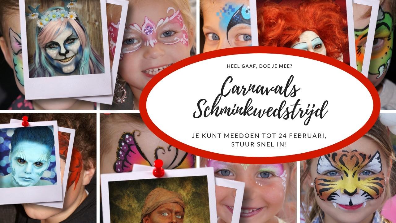Carnavals Schminkwedstrijd